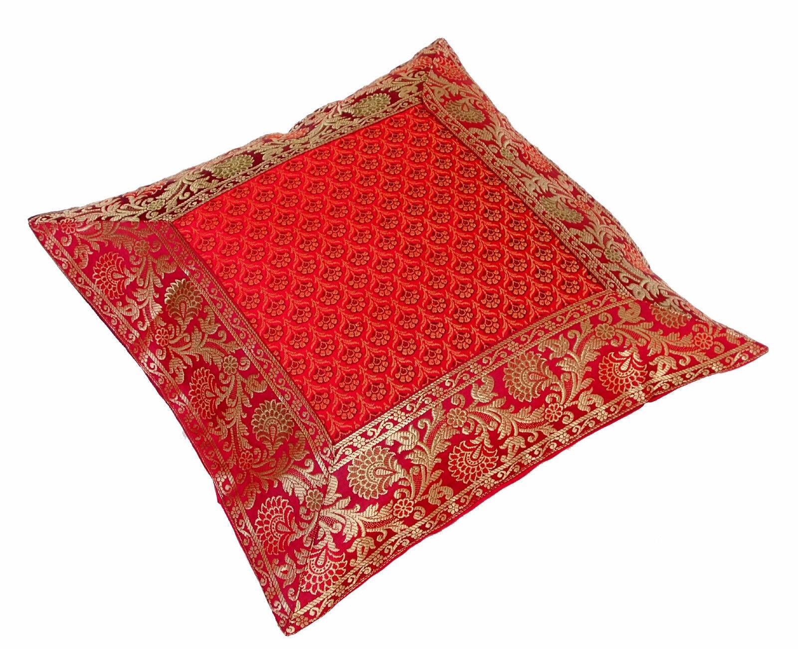 40x40 cm Orientalisch Brokat Kissenbezüg Sitzkissen kissen pillowcase dekokissen