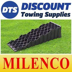 Milenco Triple Caravan Triple Levelling Ramp Set in Bag Heavy Duty