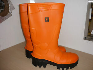 291b0b9b868 Details about GUY COTTEN THERMO SAFETY WELLIES / RUBBER BOOTS FISHING  FARMING COSTRUCTION