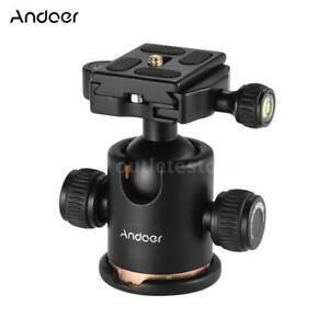 Andoer-Camera-Tripod-Ball-Head-Ballhead-with-Quick-Release-Plate-1-4-034-Screw-X0U5