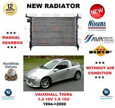 PER OPEL TIGRA 1.4 16V 1.6 16V 1994-2000 NUOVO motore radiatore * Qualità OE *