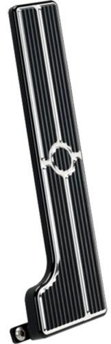 BILLET SPECIALTIES BLACK PEDAL KIT,GAS,BRAKE,/& PARKING BRAKE,58-64 AUTOMATIC
