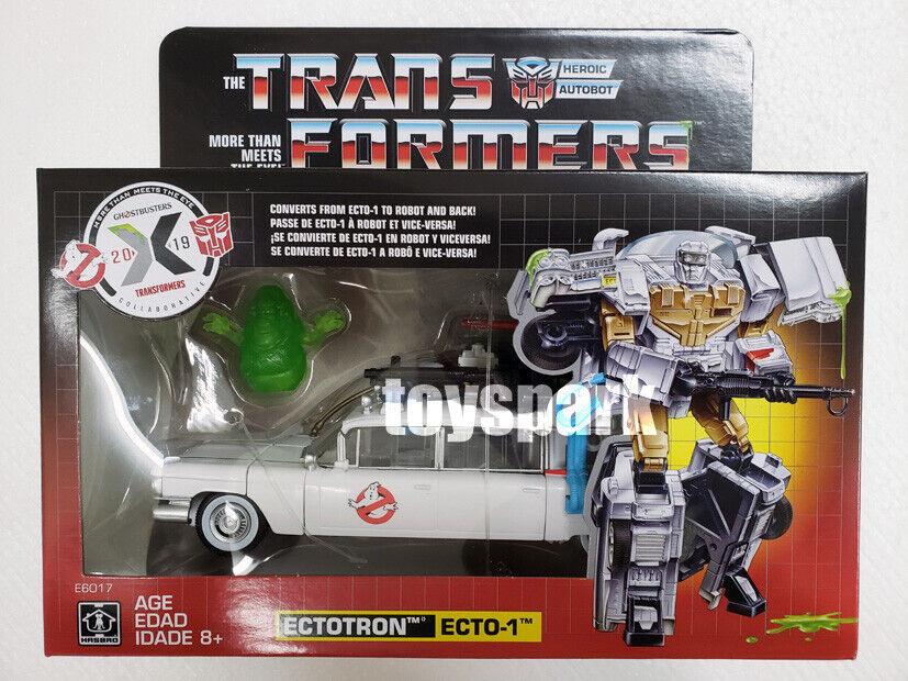 Dans  la main HASBRO TRANSFORMERS Exclusif Ghostbusters ectotron Ecto - 1 action figure  bienvenue à l'ordre