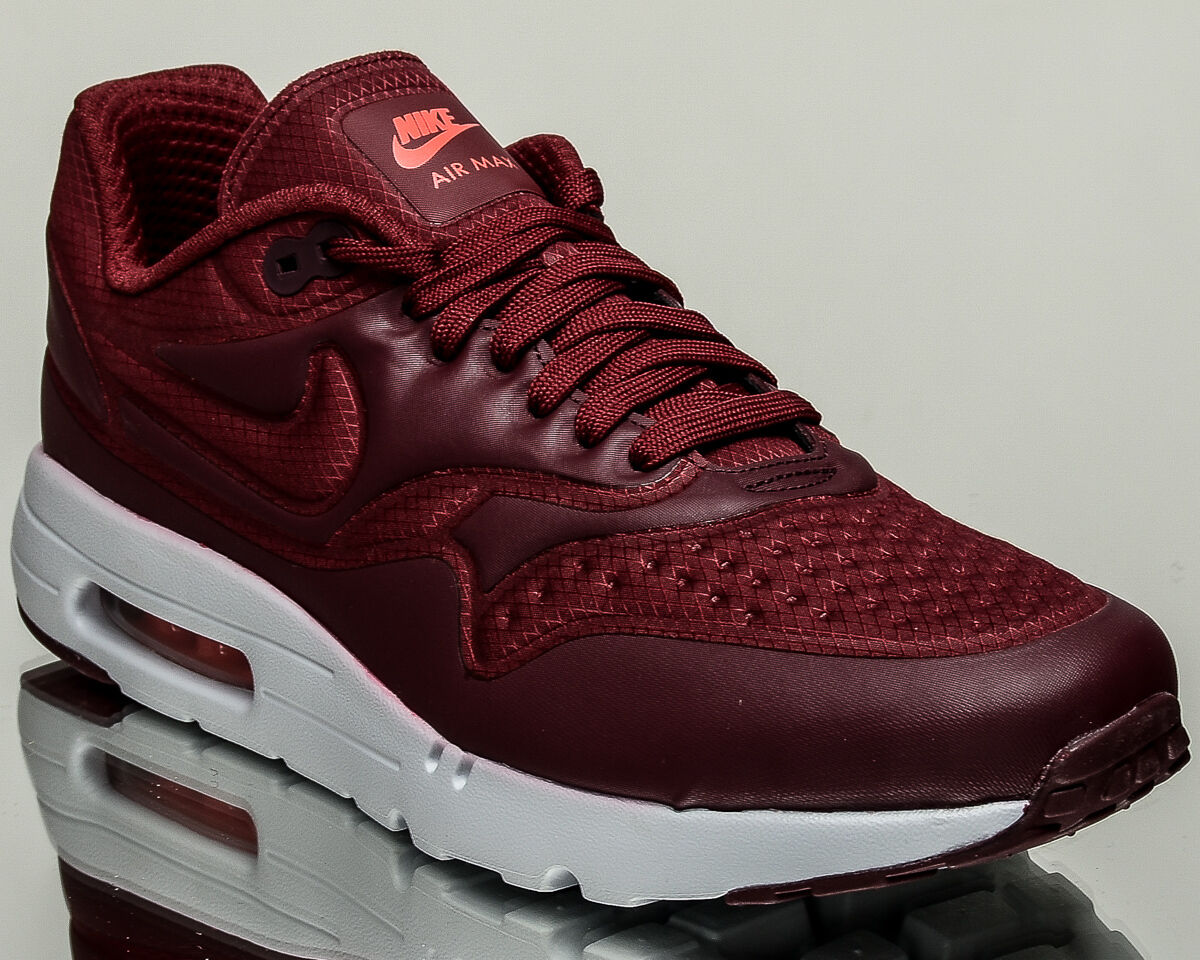 Nike Air Max 1 Ultra SE mens lifestyle casual sneakers NEW team red 845038-601