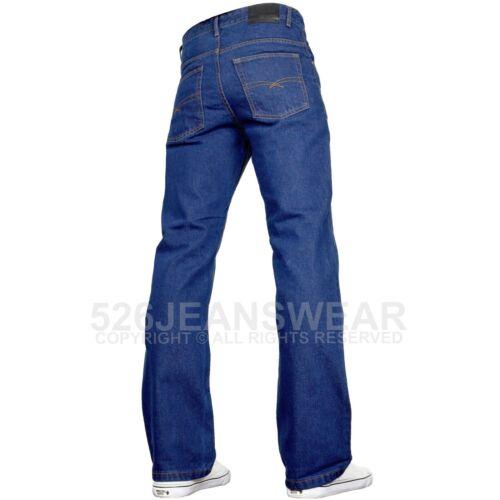 SK-1 abbigliamento da uomo con marchio Vestibilità Normale Gamba Larga Jeans Bootcut