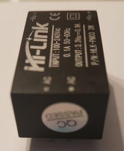 AC-DC 240V to 3.3V DC 3W mini power supply module UK Stock