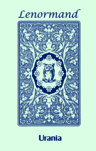 BLUE OWL BY MLLE LENORMAND 36 KARTEN DECK ESOTERIC FORTUNE TELLING AGM NEU