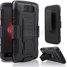 Armor Hard Cover Case Hybrid Rugged Holster For Motorola Droid Ultra/Maxx XT1080