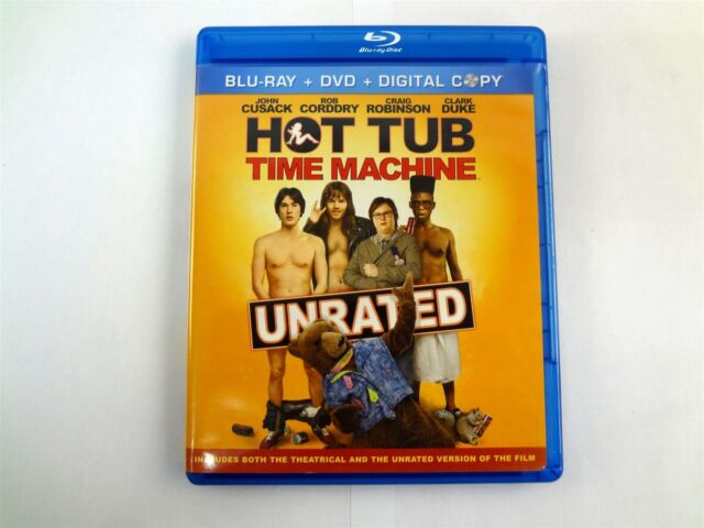 Hot Tub Time Machine Unrated Edition (Blu-ray Disc, 2010 ...