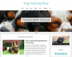 NEW-DESIGN-DOG-TRAINING-store-blog-website-business-for-sale-AUTO-CONTENT