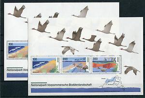 Bund-Block-36-postfrisch-2-Stueck-BRD-1871-1873-Deutsche-Nationalparks-MNH