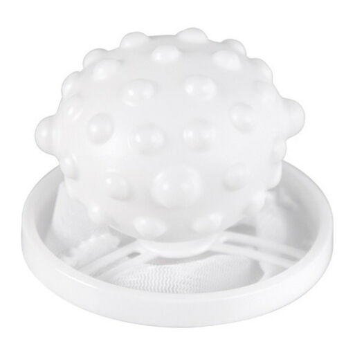 Floating Lint Hair Catcher Washing Machine Suction Hair Remover Net Ball Catcher