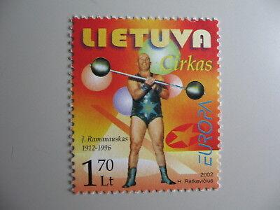 Pfrs/mnh/** Modestil Z3 Einzellwerte 2002 Cept-europa Litouwen