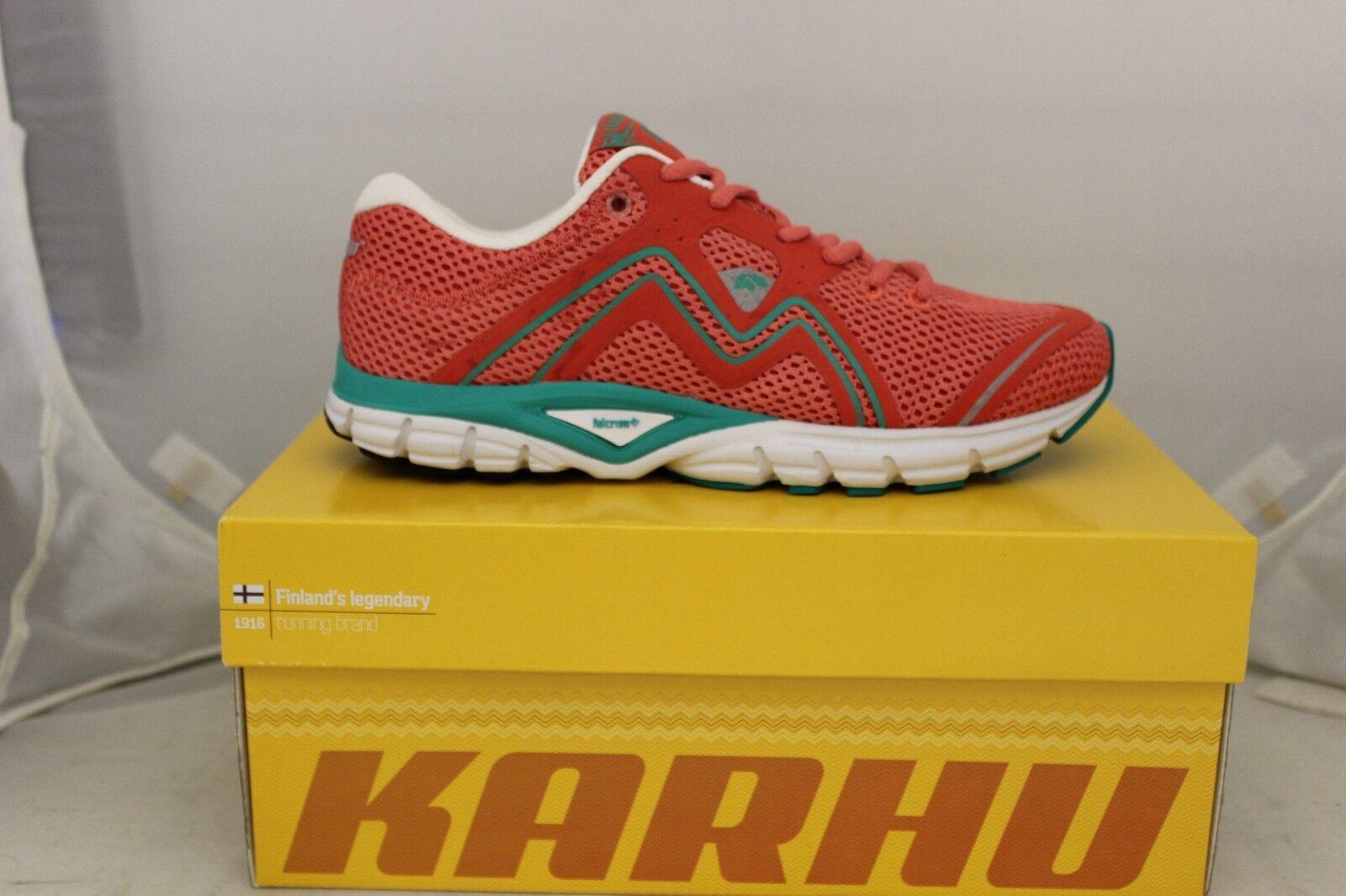 Para Zapatillas Mujer Karhu fluido 3 Zapatillas Para coral/Azulgrass f200134 Nuevo 94fc3d