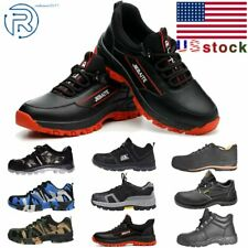 Mens Safety Work Shoes Outdoor Boots Steel Toe Sole Breathable Sneakers Us7 11