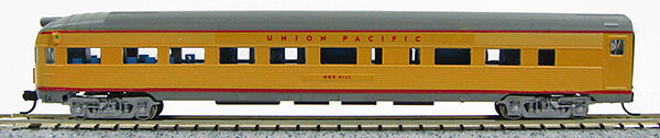 N Budd Passenger Navajo Tail Obs Car Union Pacific (Yellow Grey) (1-041514)
