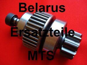 Antrieb für Anlasser 12V o 24V für Belarus Freilauf Getriebeanlasser