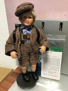 Dolls Top Zustand Gabriele Müller Porzellan Puppe Egon 32 Cm