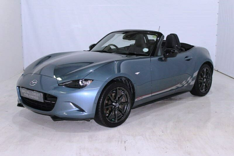 Blue Mazda MX-5 2.0 Roadster Coupe with 37710km available now!