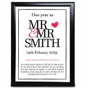 Personalised-Anniversary-Wedding-Gift-1st-First-One-Year-as-Mr-amp-Mr-Engagement