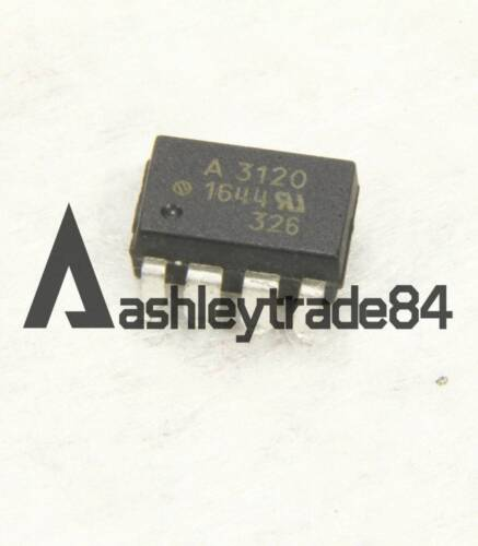 10PCS HCNW3120-500E Manu:AVAGO Encapsulation:SOP-8,2.0 Amp Output Current IGBT