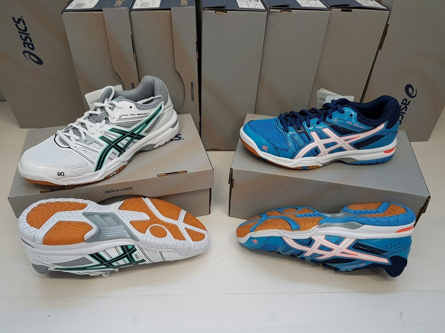 FW17 ASICS FIPAV SCARPE GEL ROCKET 7 VOLLEY PALLAVOLO SHOES DONNA WOMAN VOLLEY 7 18701e