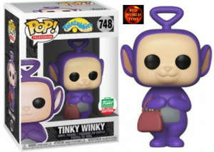 Figura in Vinile Funko Pop Teletubbies Tinky Winky 748 LIMITED EDITION-NUOVO IN SCATOLA