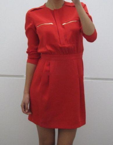 THEORY BRUNELLA BASQUE SILK BLOUSON DRESS 12