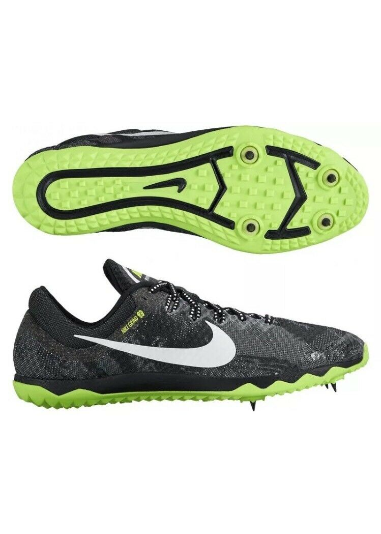 Mens Nike Zoom Rival XC Spikes Running Shoes 12 Black White Volt 749349-017 The most popular shoes for men and women