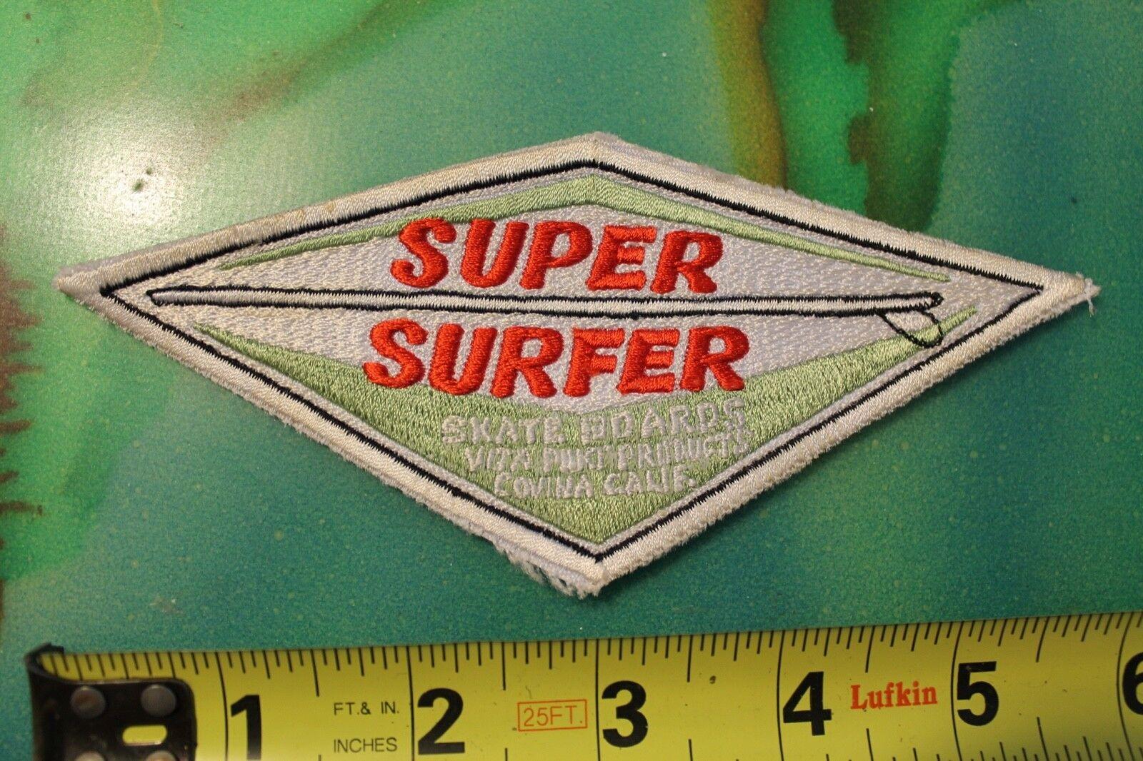 SUPER SURFER Hobie S boards Surfboard Rare Original 60's Vintage  Surf PATCH  new products novelty items