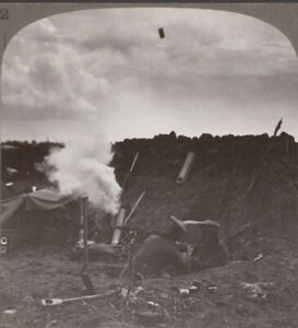 WW1-Seaforth-Highlanders-Fire-a-Trench-Mortar-The-Shell-Seen-in-Deadly-Flight