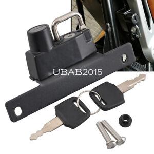 Details about Steel Helmet Anti-theft Security Lock Keys Kit for BMW R Nine  T 2014-2018 Left