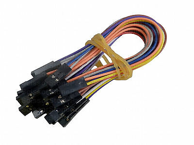 F-F 10X 15cm 10P Female Arduino Jumper Cable Cables Wire Wires Sensor Shields