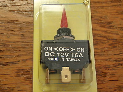ROCKER SWITCH 4 PAC  10921 NON-LIGHTED MOMENTARY ON//OFF//MOMENTARY ON BLACK