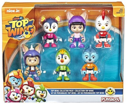 Top Wing 6-Personnage COLLECTOR FIGURINE Pack NEUF *