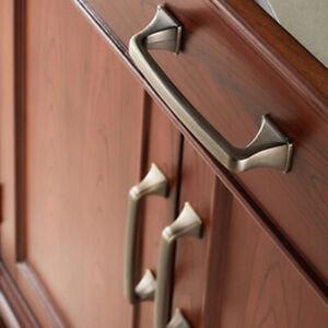 Details about Vintage Antique Bronze Cabinet Handles Brass Kitchen Handles  Drawer Pulls J