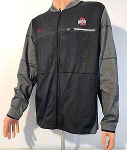 NEW Ohio State Buckeyes Nike Men's Large Elite Hybrid Jacket Full Zip Team Issue