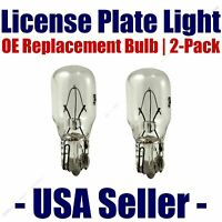 License Plate Bulb 2pk Oe Replacement Fits - Listed Buick Vehicles - 24