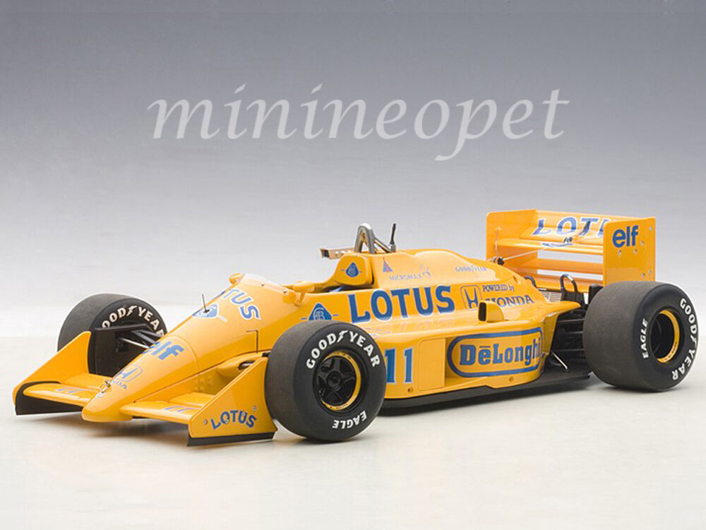 bilAkonst 88726 LotUS 99T HONDA F1 japanESE GP 1987 S. NAKAJIMA  18 gul