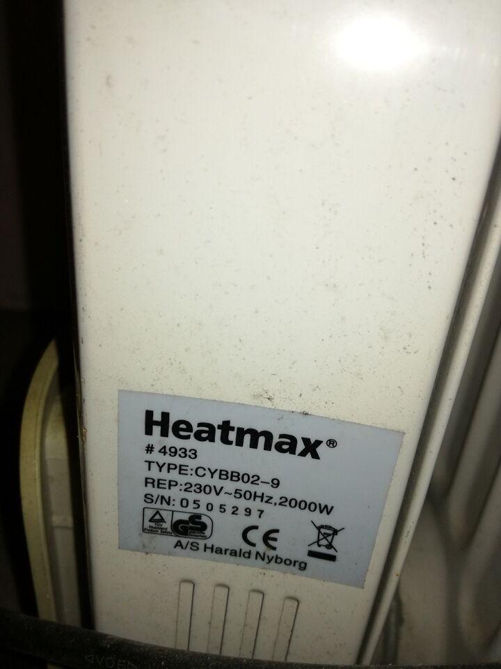 Elradiator, Heatmax