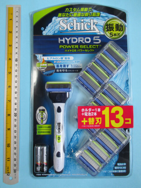 FreeShip Schick HYDRO 5 Power Select Razor Blades Refills 13 Count With Tracking