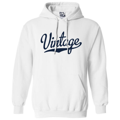 Hooded School Sports Team Sweatshirt Vintage Script /& Tail HOODIE All Colors