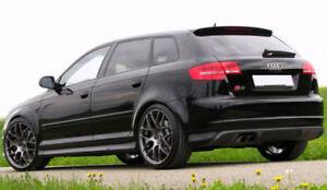 For Audi A3 8p 5 Door Sportback S3 Look Side Skirts Ebay