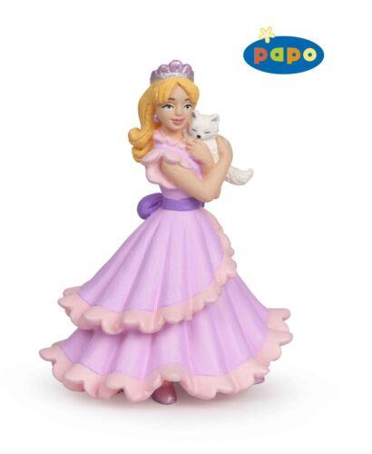 FIABE Papo 39010 Principessa con gatto 10 cm dire