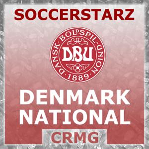 CRMG SoccerStarz DENMARK DANISH NATIONAL TEAM DANMARK (like MicroStars)