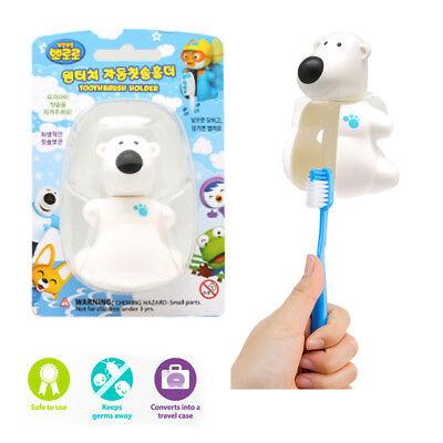 PORORO POBY Automatically Toothbrush Holder Flipper Bathing  ICONIX Genuine