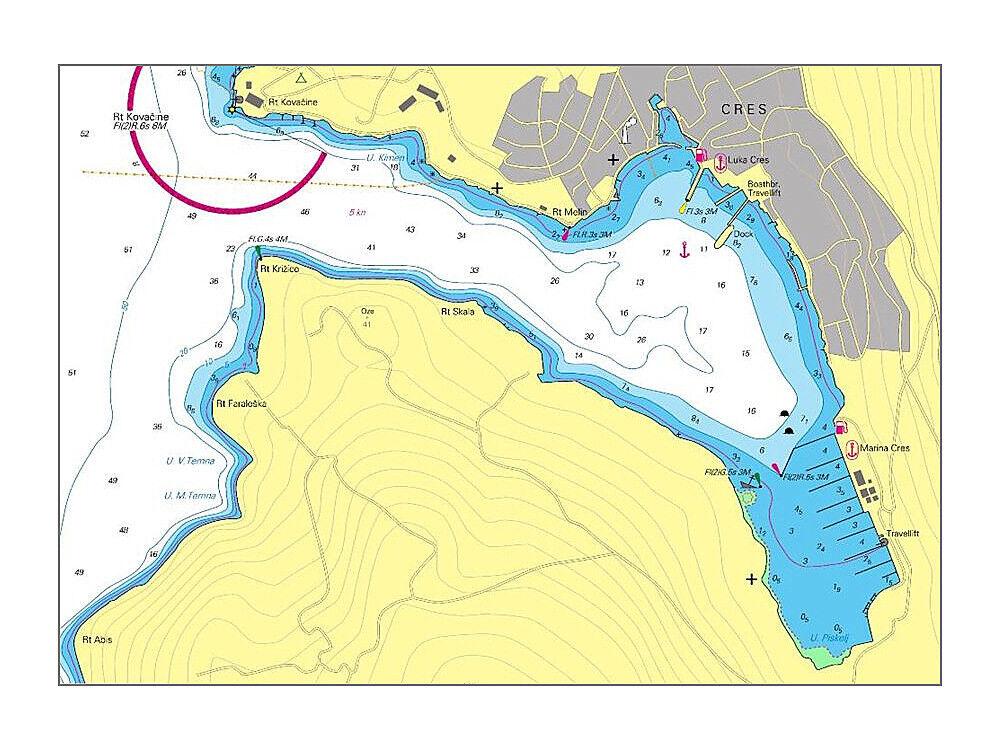 NV SportStiefelkarten Kroatien   Seekarte Seekarte  Atlas Croatia Mediterranean Sea - HR 1 2 ae48ba