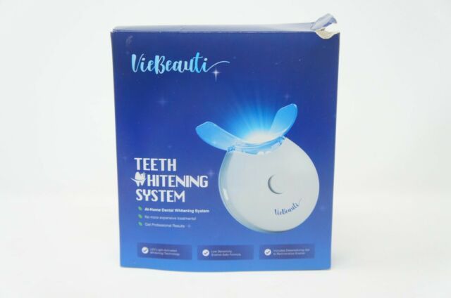 Viebeauti Premium Teeth Whitening Kit With Led Light For Sale
