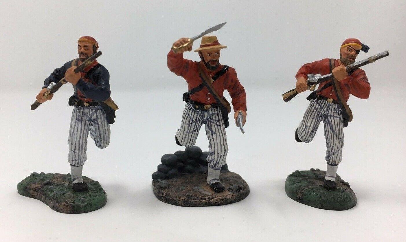 W BRITAINS 00280 - LOUISIANA TIGERS,  AMERICAN CIVIL WAR
