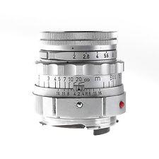 Leica 5cm f2.0 Summicron M Dual Range Lens